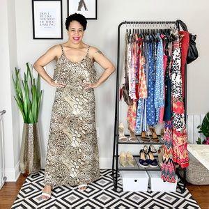 Maxi Dress Leopard Print